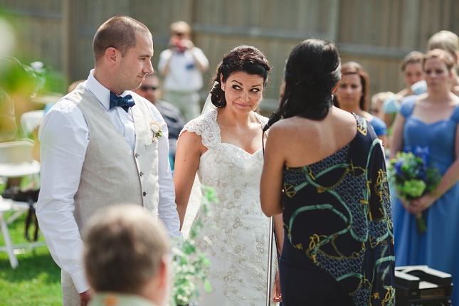 kingston wedding photographer - stephanie and colin ceremony glance