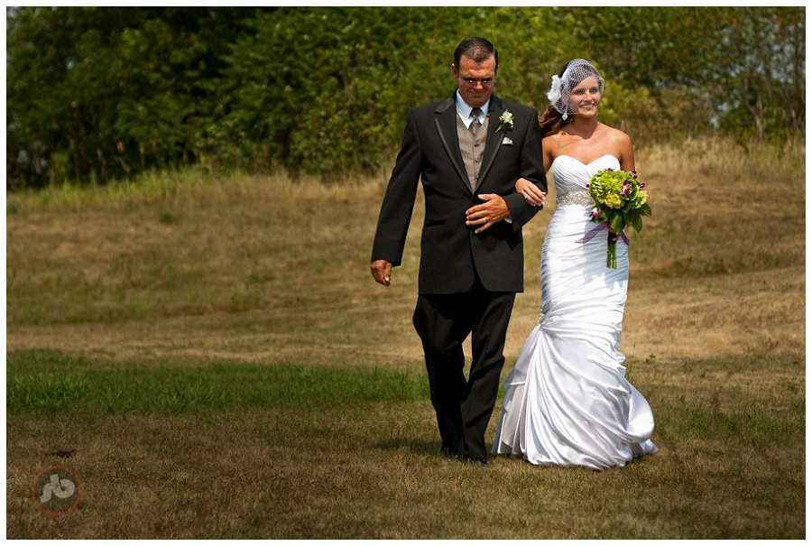 Adam and Jessica - Lanark ON Wedding Photography