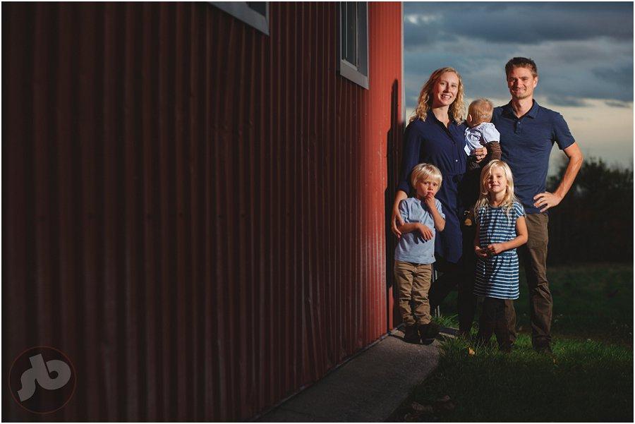 Napanee Family Photography - Susannah and Kevin