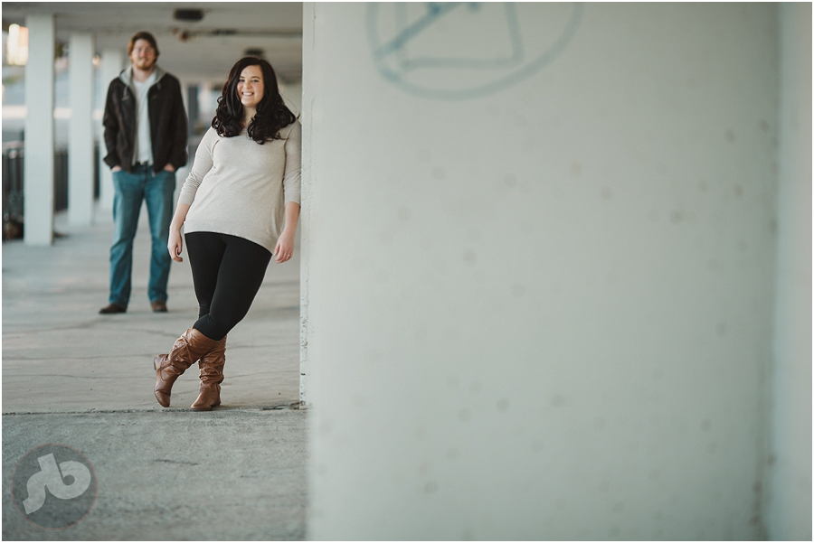 Kerrianne and Michael - Downtown Kingston Engagement Photography