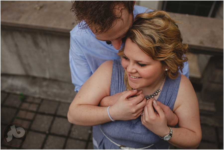 Ashley and Mike - Kingston Engagement Photography at Queen's University