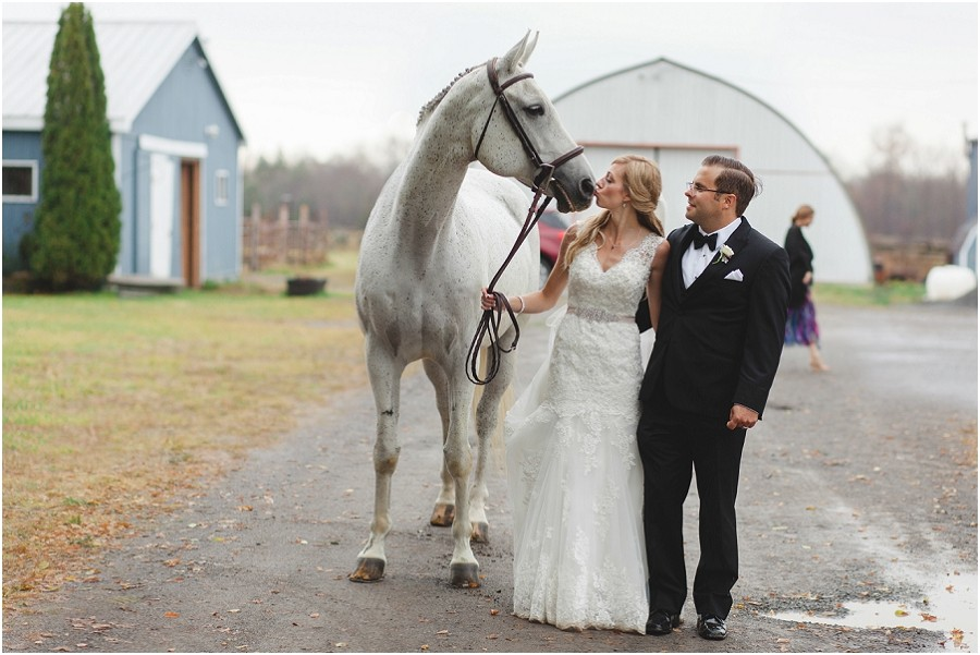 Kingston Wedding Photographer - Jessie and Chad - oakridge stables