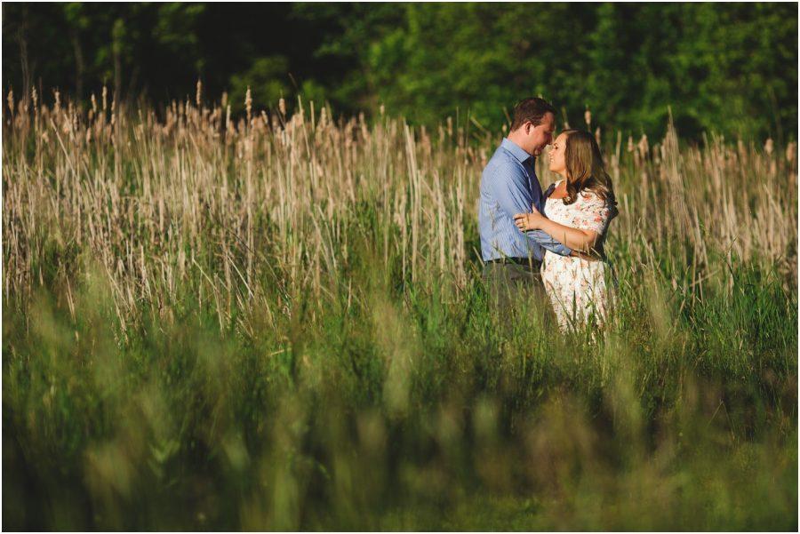 kingston engagement photographer - fort henry engagement session