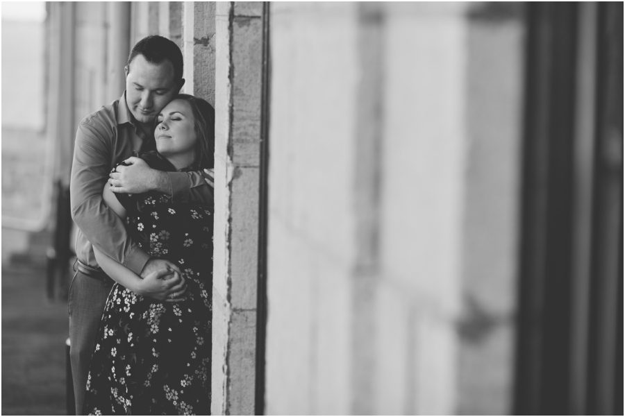 kingston engagement photographer - fort henry engagement session