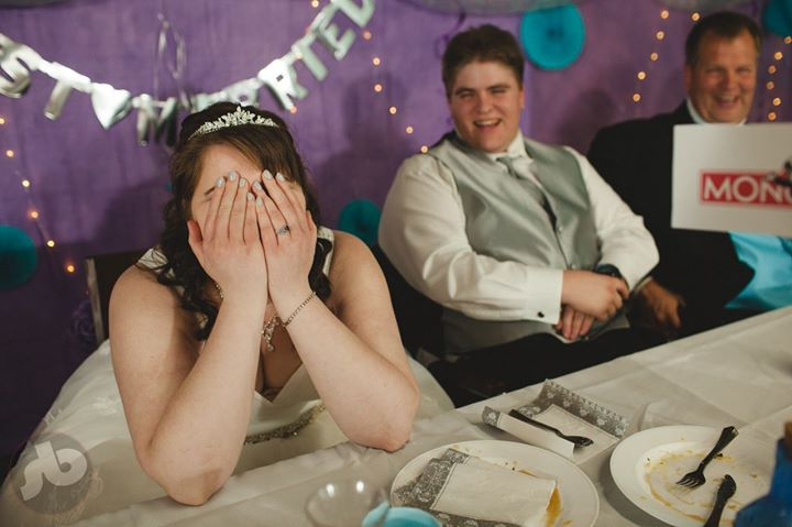 when the stories come out at the wedding...