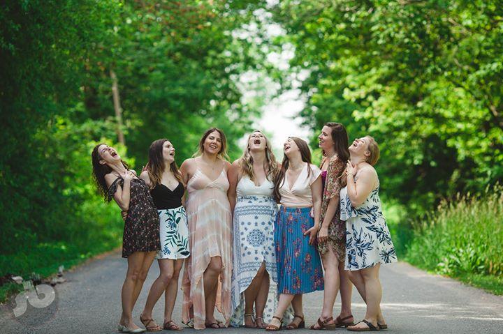 a great bachelorette party includes a PEC wine tour, a group of your best friend...