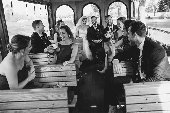 I hope everyone is as happy this holiday season as these two were on their weddi...