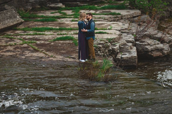 a little peek from Kaitlyn and Patrick's engagement session at Chisolm's Mills i...