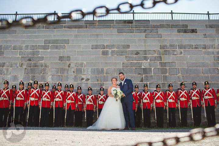 when you have 30 seconds to make a photo before the Fort Henry Guard either impa...